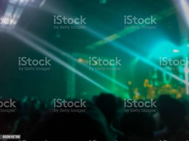 Abstrakt Suddig Konsert I Liten Klubb-foton och fler bilder på Bildbakgrund