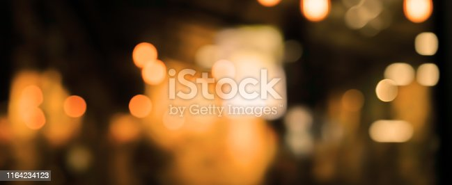 877010878 istock photo abstract blurred darkness of beautiful inside interior modern restaurant nightclub retail background for design concept 1164234123
