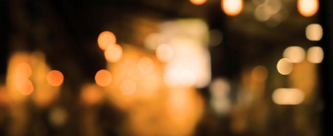 Abstracta Oscuridad Borrosa De Hermoso Interior Interior Moderno Restaurante Club Nocturno De Fondo Para El Concepto De Diseño Foto de stock y más banco de imágenes de Abstracto