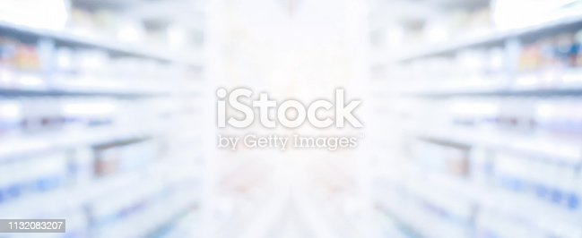 istock abstract blurred drug store aisle shelf distribution background for medical pharmaceutical business concept 1132083207
