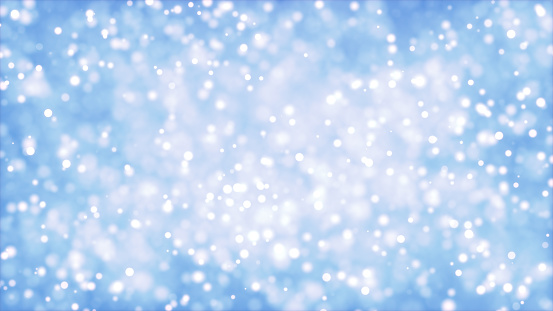 977706014 istock photo Abstract blurred Glow Glittering Particales, Sparkling bokeh background 3d rendering 1192197961