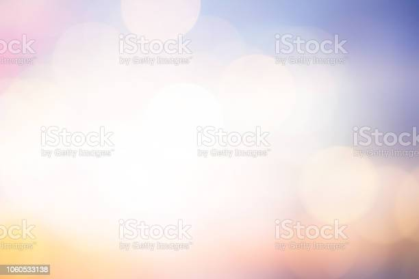 Photo of abstract blurred glowing sunny light in the morning with colorful background for design element as banner or presentation concept