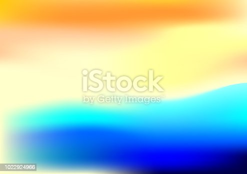 istock Abstract blurred gradient mesh background in bright  colors. 1022924966