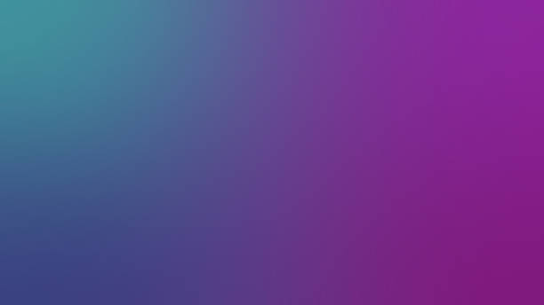 abstract blurred gradient mesh background in purple and blue colors. colorful smooth banner template - возвышенность стоковые фото и изображения