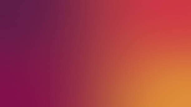 abstract blurred gradient mesh background in red and yellow colors. colorful smooth banner template - возвышенность стоковые фото и изображения