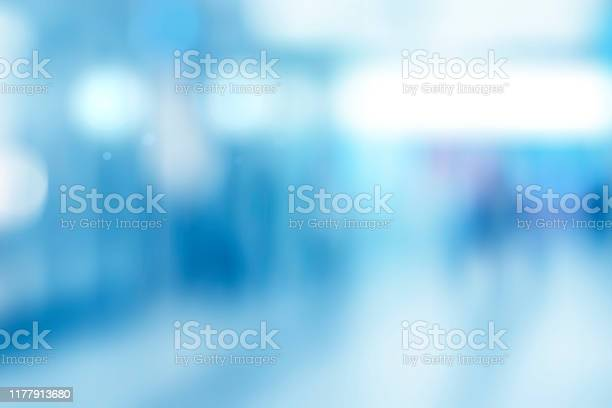 Abstract blurred interior of corridor clinic background in blue color picture id1177913680?b=1&k=6&m=1177913680&s=612x612&h=68bptlqsjusuc9mfwrahl3yi7lzioiiytijp33hydjq=