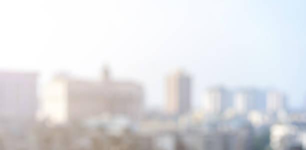abstrakcyjne rozmyte nowoczesny budynek przemysłu na zewnątrz centrum miasta tło widok formie patrząc przez okno wysokiej wieży dla koncepcji tła biznesowego - selektywna głębia ostrości zdjęcia i obrazy z banku zdjęć