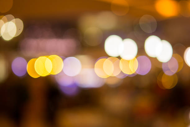 Abstract blurred  natural light direction stock photo
