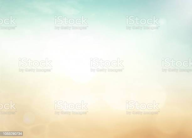 Photo of Abstract blurred nature background