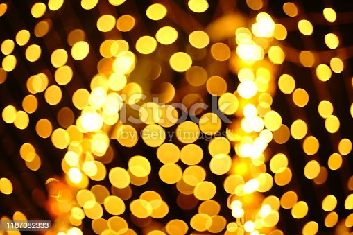 929640504istockphoto Abstract blurred night city bokeh light background 1187082333