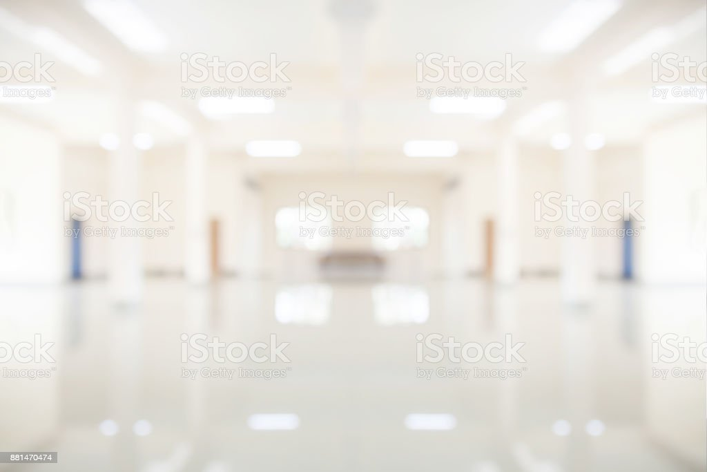 Abstract blurred room background.