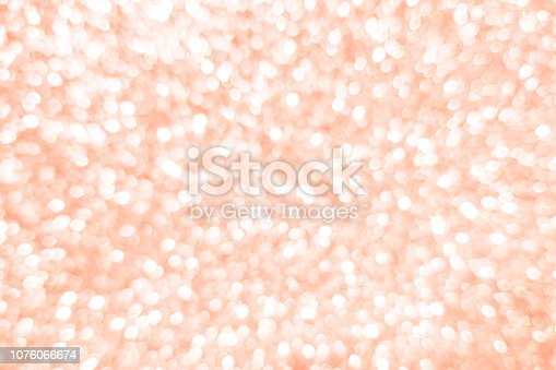 istock abstract blurred rose gold color gradient color background with bokeh light effect for merry christmas and happy new year festival design and element  concept 1076066674