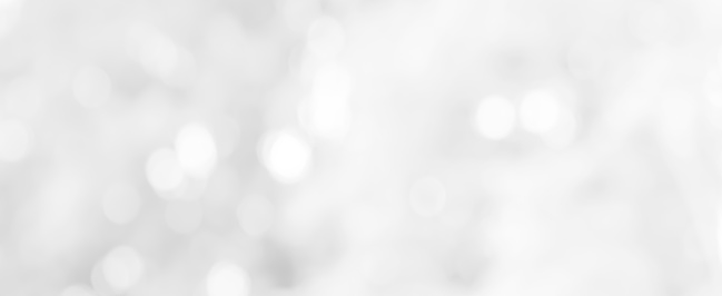1060912842 istock photo Abstract blurred soft white silver beautiful with glitter bokeh round light panoramic background for design banner  and presentation concept 1152451809