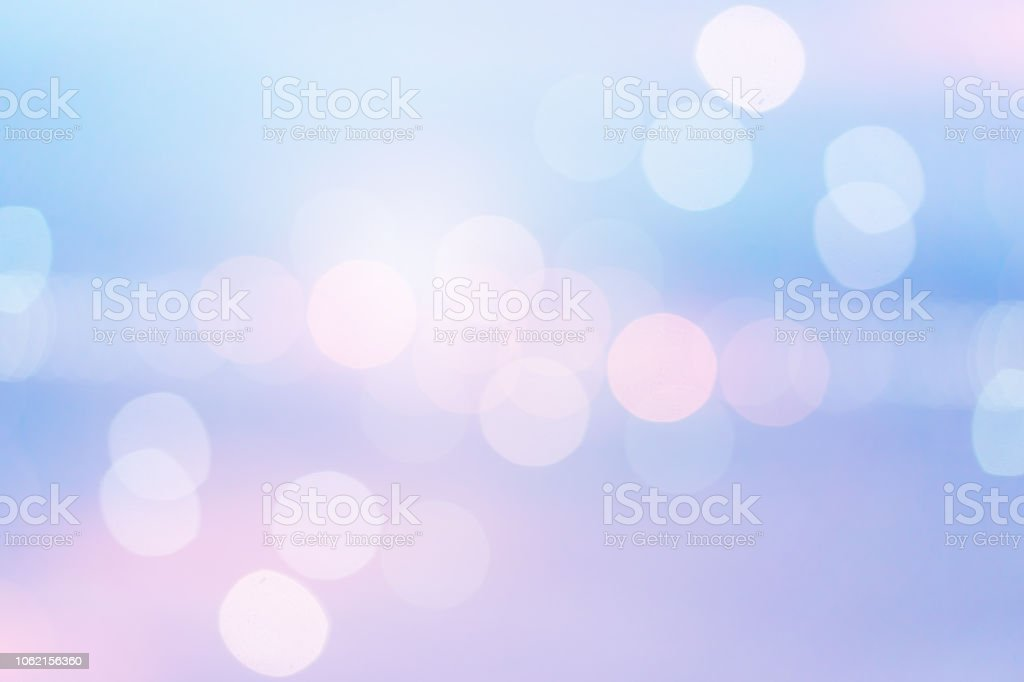 abstract blurred sunset dawn skyline background in pastel color tone with double exposure bokeh light for design as banner,ads,presentation,web concept stock photo