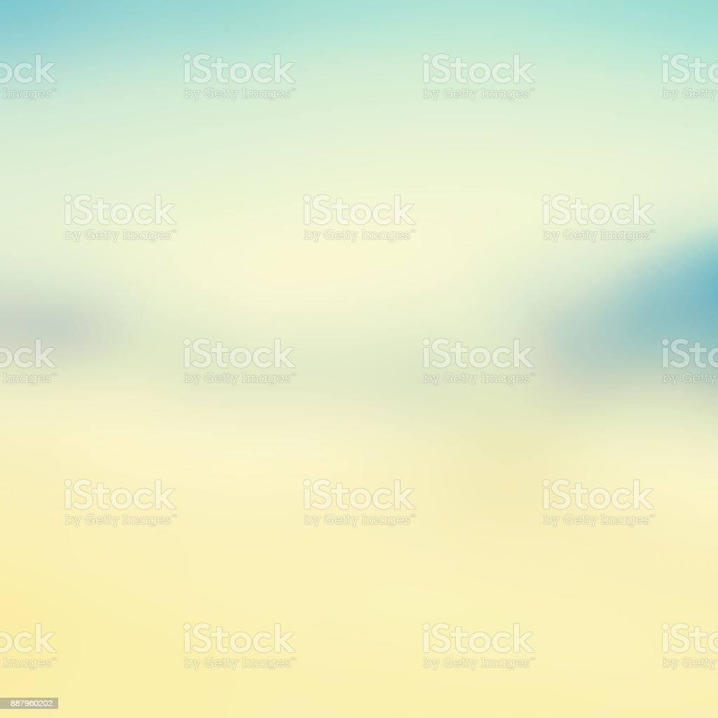 Abstract blurred tropical beach and sea landscape for background - defocused summer image'n stock photo
