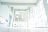 istock Abstract blurred white doctor medical office room background concept for blur empty space grey modern hospital clinic pharmacy, light clean interior retail sale, blue glare window hallway building 1182143162