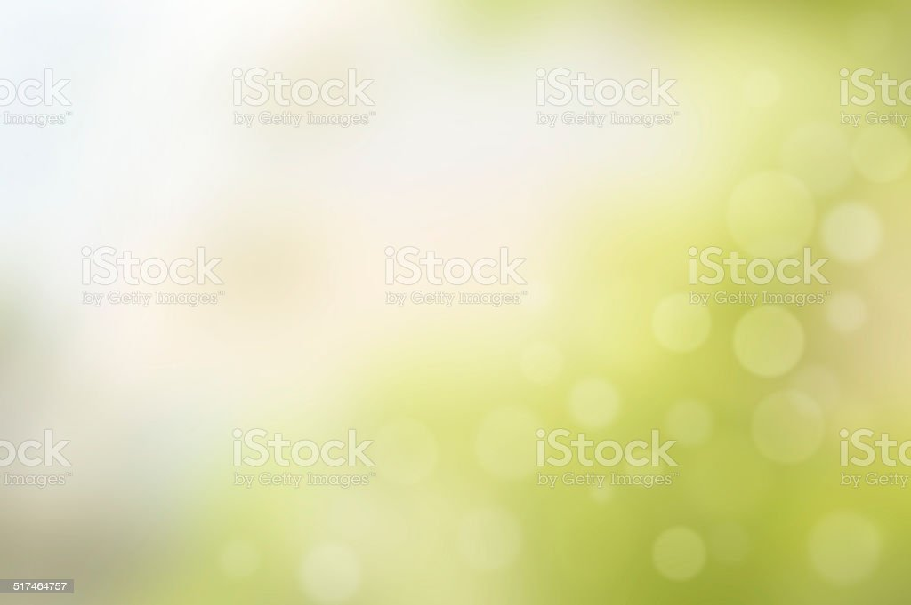 Abstract blurry green background stock photo