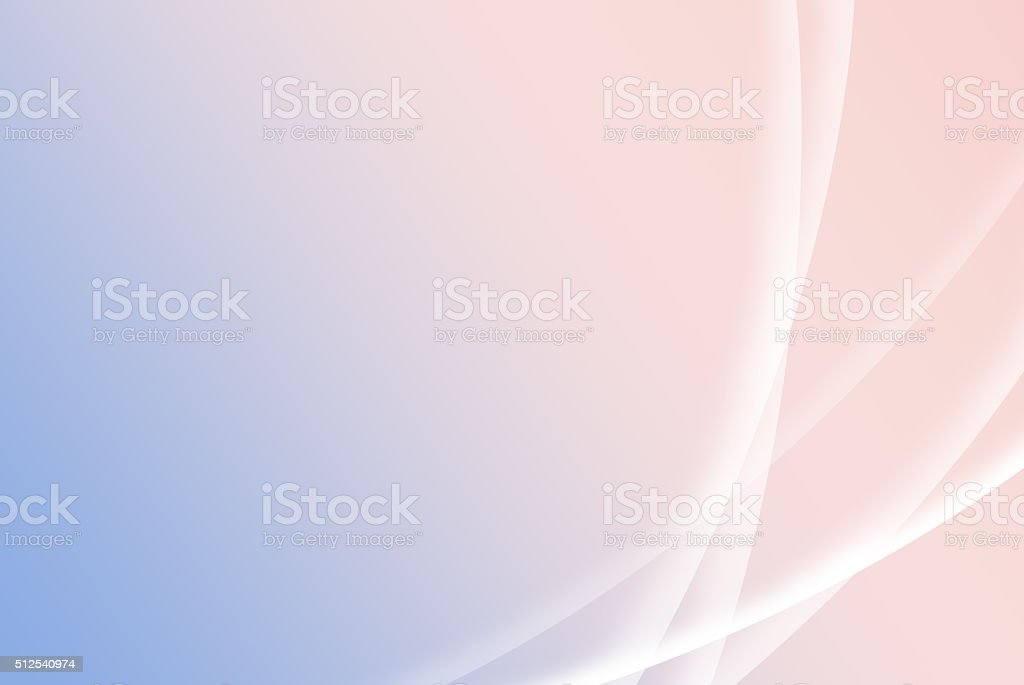 Abstract blurry soft blue and pink spring background; desktop style stock photo
