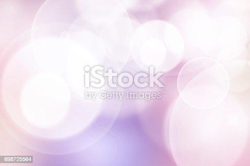 istock Abstract bokeh background 698725564