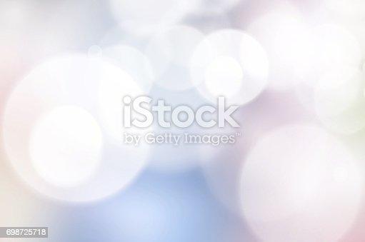 istock Abstract bokeh background 698725718