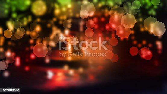 123458999 istock photo Abstract bokeh background 866699378