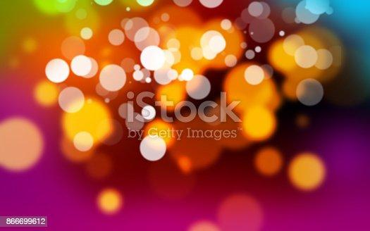 123458999 istock photo Abstract bokeh background 866699612