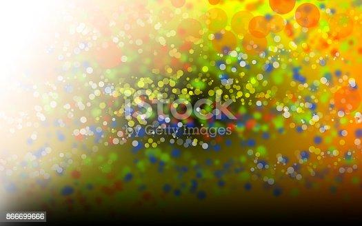 123458999 istock photo Abstract bokeh background 866699666