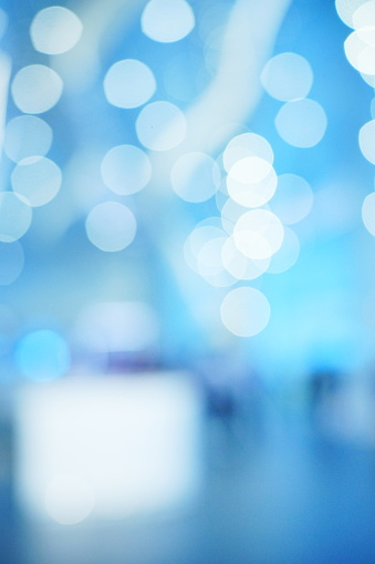 1068830604 istock photo Abstract bokeh blue backlight background 1179375824