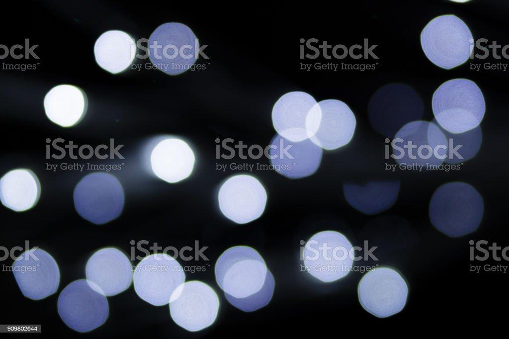 Abstract bokeh dark backlight background Light Effect stock photo