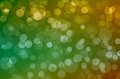Abstract Background, Bokeh Effect