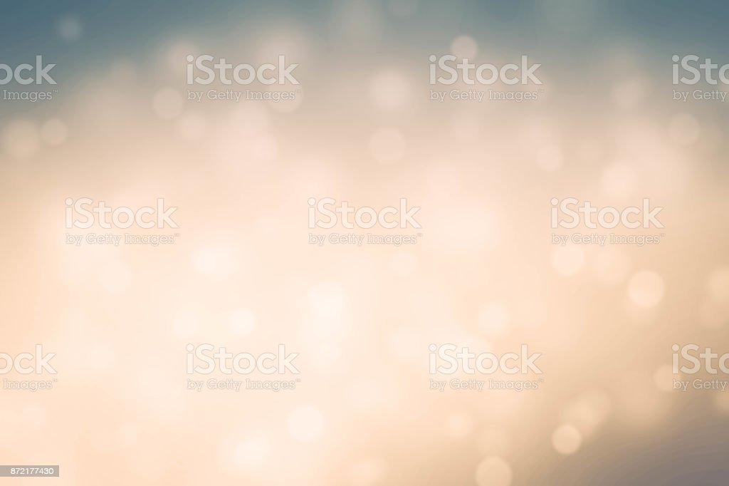 Abstract Bokeh Lights With Colorful Background stock photo