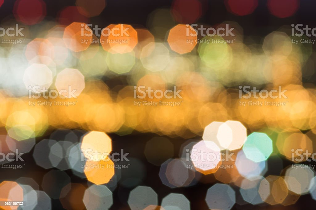 Abstract bokeh refinery or cityscape foto de stock royalty-free