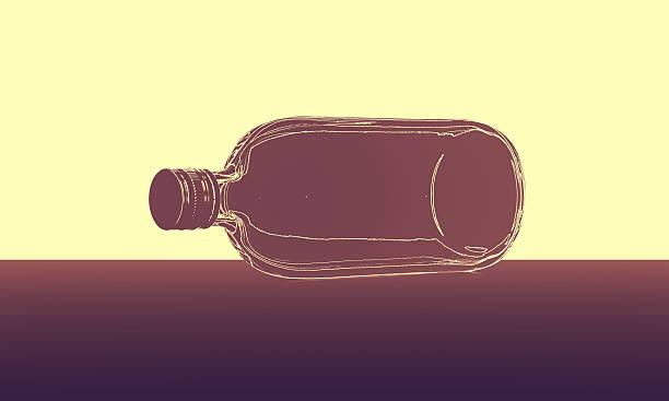 Abstrakte Flasche auf Etage – Foto