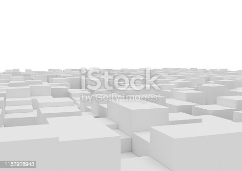 istock abstract box background. 1152928943