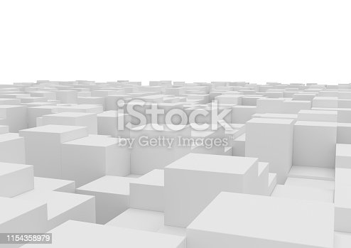 istock abstract box background. 1154358979