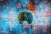 istock Abstract brain activity image 1205196144