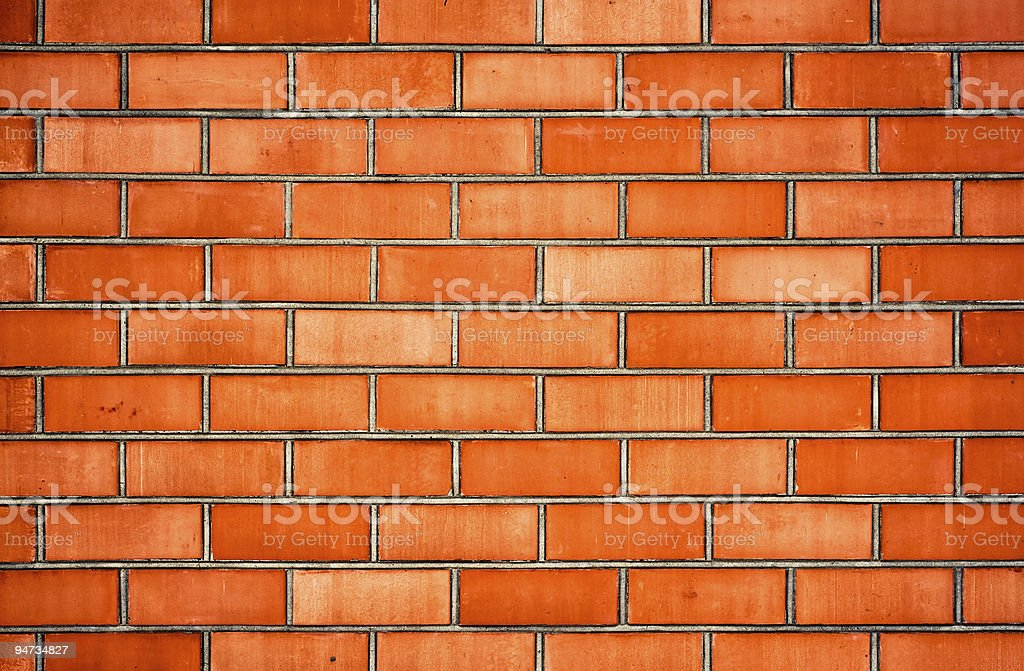 abstract brick wall background stock photo