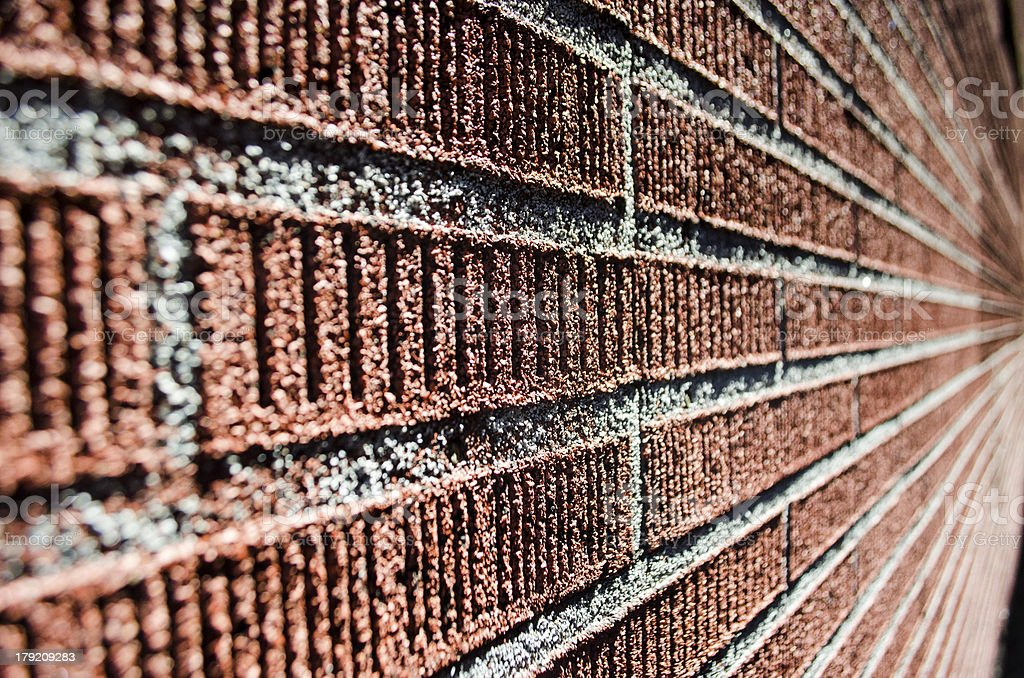 Abstract Brick Wall royalty-free stock photo