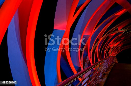 istock Abstract Bridge 498336102
