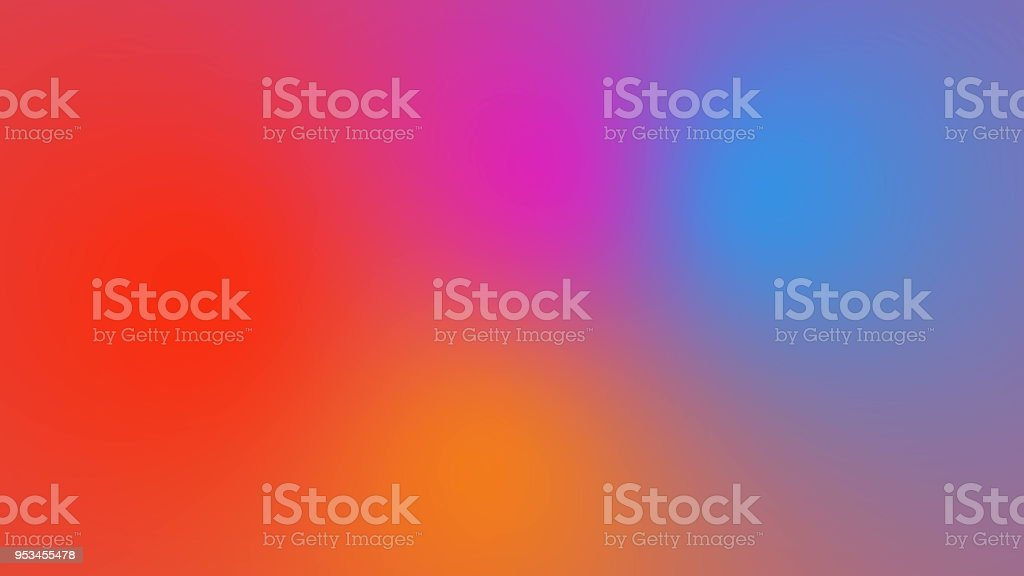Abstract bright multicolored background with visual illusion and wave effects, 3d rendering computer generating stock photo
