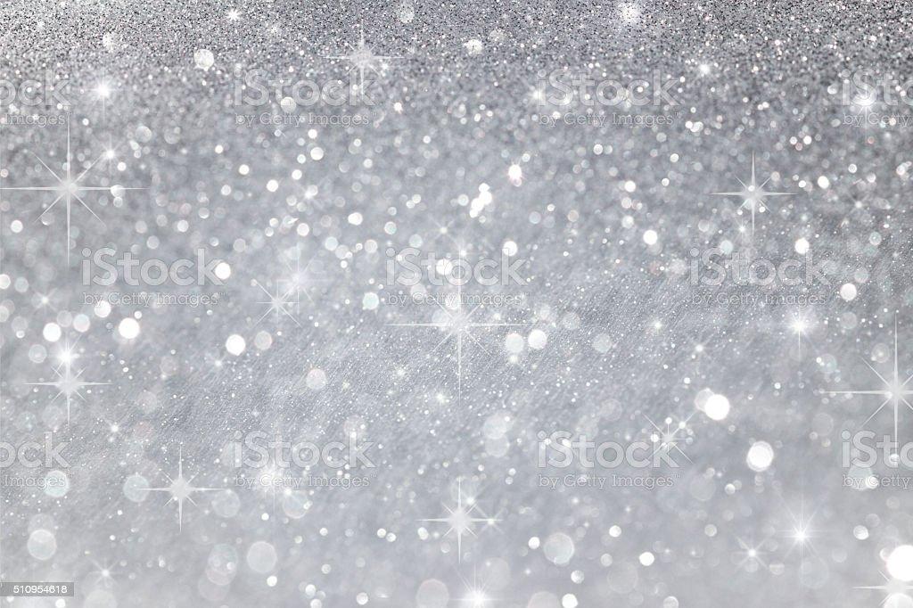 Plata fondo Borroso abstracto brillante - foto de stock