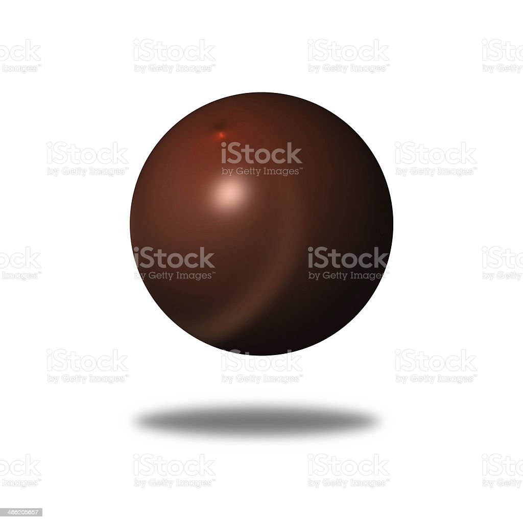 Abstract Brown Globe royalty-free stock photo