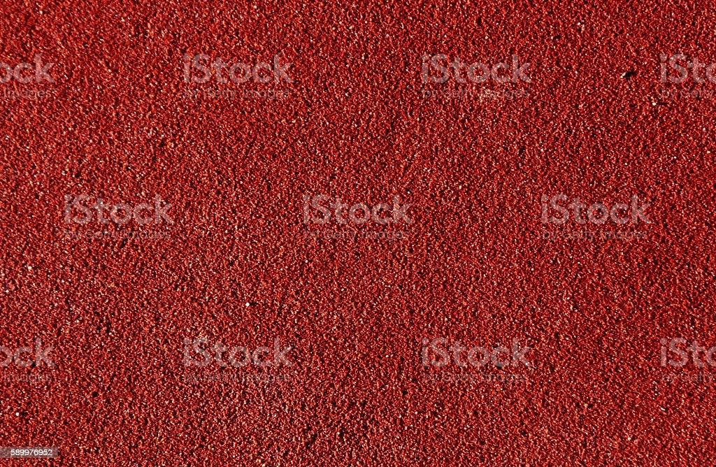 Abstrakte braune Laufstreckenoberfläche. - Lizenzfrei Baseball Stock-Foto