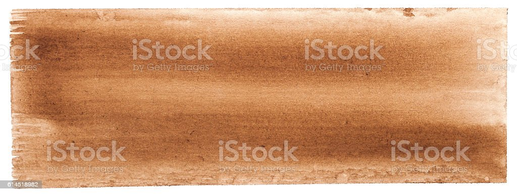 Abstract brown watercolor background. – zdjęcie