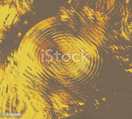 istock Abstract brush strokes theme art. Colored painting theme. Grungy brush strokes on canvas. 1137284265