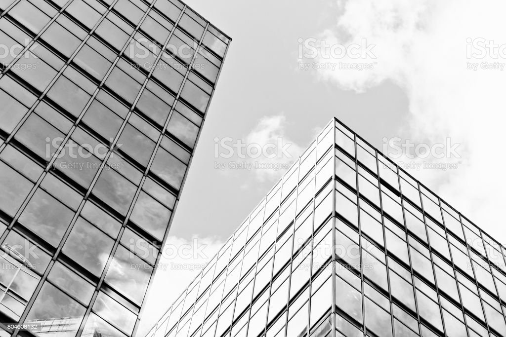 Abstract building background stock photo