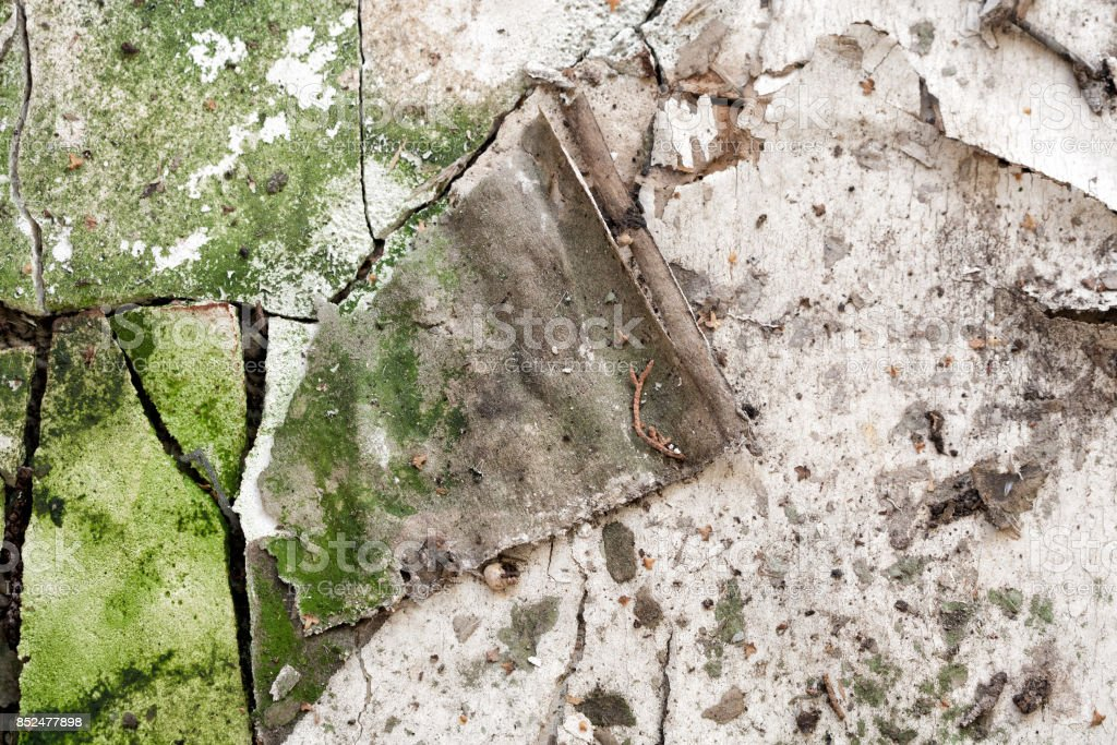 Abstract building decay texture stock photo