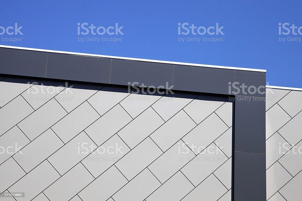 Abstract building facade, Melbourne stock photo