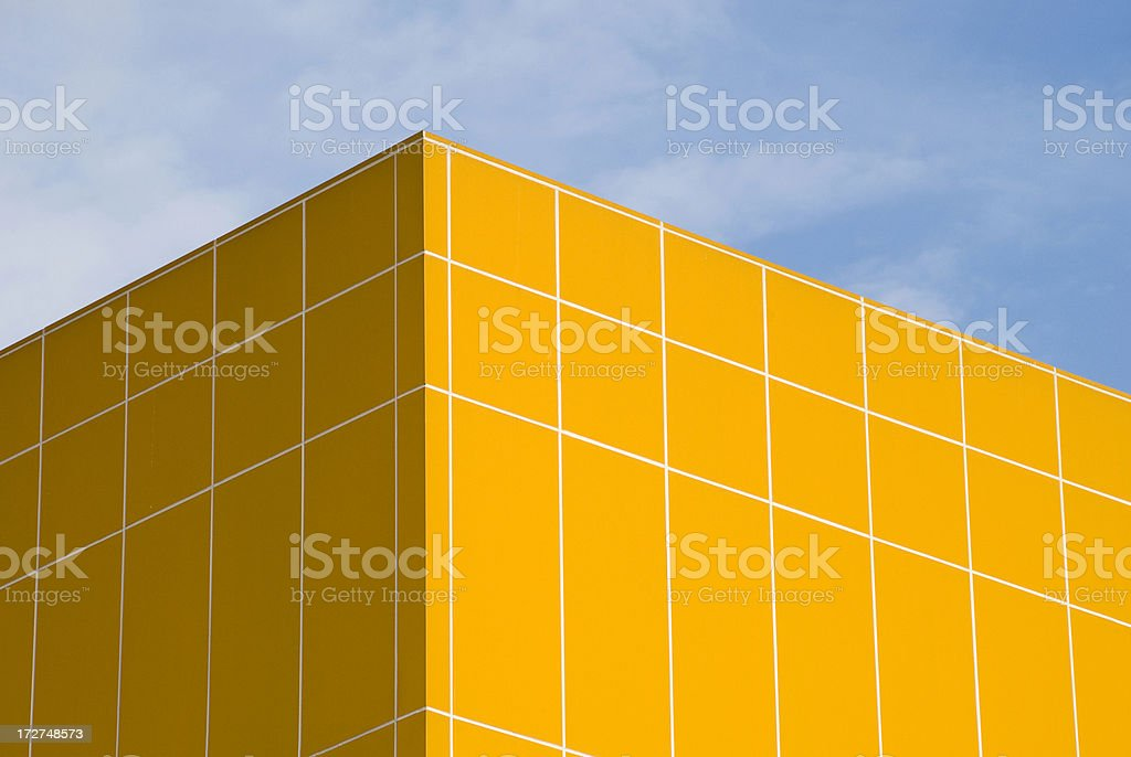 Abstract building royalty-free stock photo