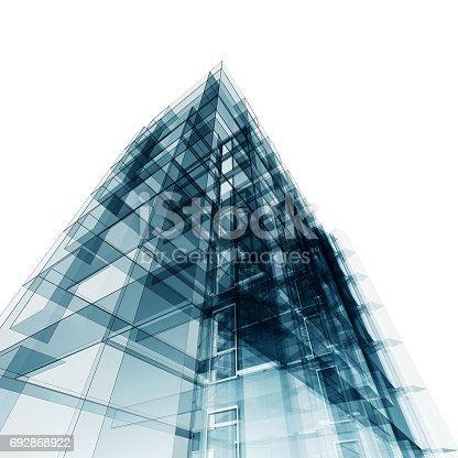 692868922 istock photo Abstract building 692868922
